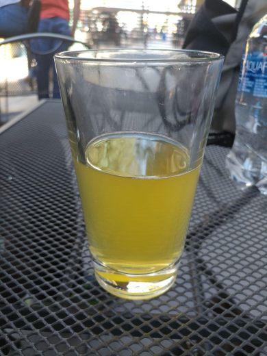 Lemon Ginger Raspberry Beer